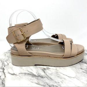 AGL Quarter Strap flatform sandal Italy pink 8